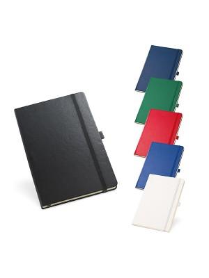 Caderno Tipo Moleskine c/ Bolso interior e porta esferográfica não pautadas 137x210mm - 93491