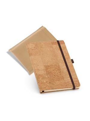 Caderno tipo Moleskine Cortiça c/elástico  97x145mm - 93731