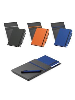 KIT Caderno tipo moleskine e caneta 93795