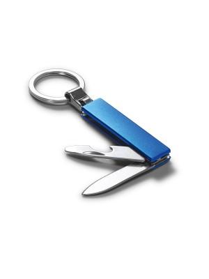 Chaveiro Metal com Canivete e Abridor de Garrafa 53197