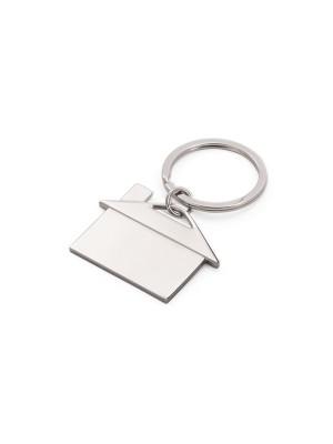 Chaveiro Metal Formato Casa 93084