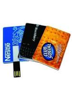 Pen Drive em Formato  Cartão 8GB