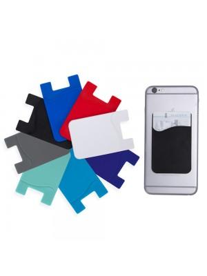 Porta Cartão Silicone p/Celular 14000